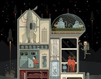Scene #2: Moon Base