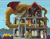 Scene #8: Close the gates!