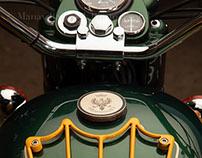 Old Delhi Motorcycles : Le Bécane Royale