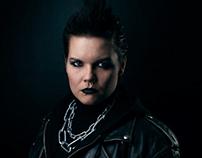 Lisbeth Salander photoshoot