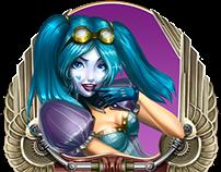 Cazino Zeppelin - Art Direction for Yggdrasil Gaming