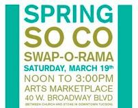 Spring SO CO Swap-O-Rama Poster