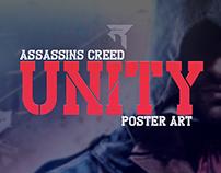 Assassins Creed Unity Poster Design