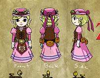 Zelda Character Design