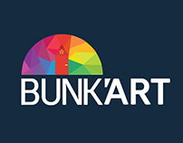 BUNK'ART Exhibition (Name, Logo, Brandy & Concepts)
