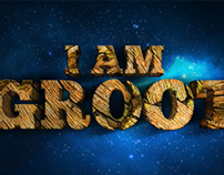Guardians of the galaxy typographic fan art