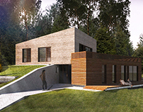 Individual house project in Vilnius, Lithuania