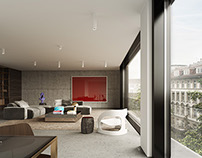 Tor Lofts - Architectural Rendering
