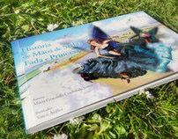 """""""História de Mãos de Seda, Fada e Princesa"""" · Book"""