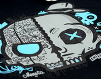 BACK TO SKULL T-SHIRT COLLAB