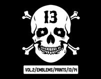 Vol.2 / Emblems / Prints / 13/14
