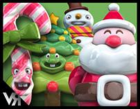 Candy Christmas - 3D Modular Kit