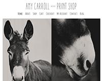 Amy Carroll Print Shop