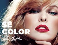 Color Riche - Le Vernis, L'Oréal Paris. Art Direction