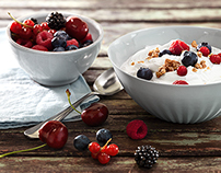 Food Photography for EDEKA // Milk products