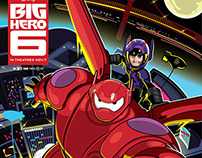 Officially licensed Big Hero 6 Poster - Disney