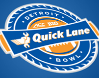 Quick Lane Bowl - Rebrand