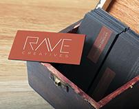 RAVE CREATIVES Logo