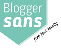 Blogger Sans (Free Typeface)