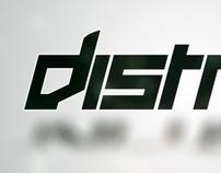 Distriqt Logo and Typeface