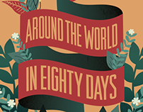 Jules Verne Book Cover Redesign