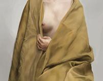 Girl and Cloth (Louis Treserras Study)