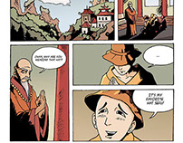 Monk Hat Comic