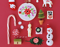 Holiday Miniature Collage
