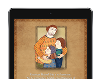 Page Design for Hansel & Gretel mobile app