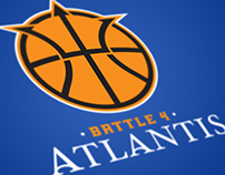 Battle 4 Atlantis Basketball Tournament - Rebrand