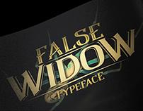 FALSE WIDOW - Typeface