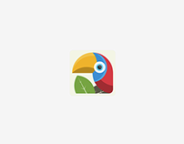 Parrot Illustration - possible Game Icon