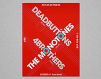 NO BOUNDARY Concert poster design