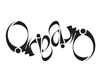 """""""Origami"""" Ambigram"""
