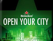 Heineken Cities App Design Concept