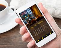 NYC Freelancer - app interface design UI/UX