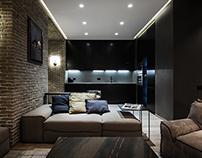 Apartment of artist in Kiev