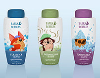Dog Shampoo Labels