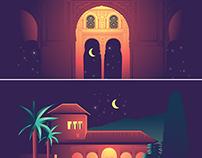 Andalusia At Night