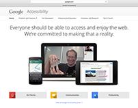 Google Accessibility