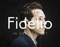 Concept Website | Philips Fidelio in-ear headphones
