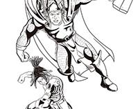 Marvel vs Capcom Tribute - Thor e Nathan Spencer