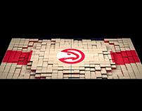 Atlanta Hawks Court Projection