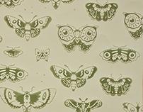 Screen Print Wallpaper