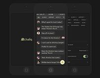 Chalq - Local Chat App