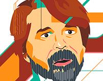 John Hanke portrait for Stuff Magazine