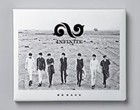INFINITE - BE BACK album art direction & design