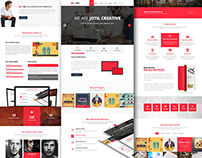 69Studio - OnePage Web Template