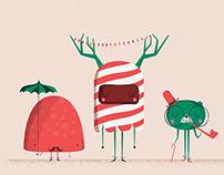 Crate & Barrel Holiday Ornaments
