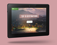 AMAZON + TRIPADVISOR | Interactive Kindle Experience